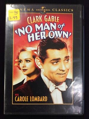 NO MAN OF HER OWN DVD Carole Lombard Clark Gable