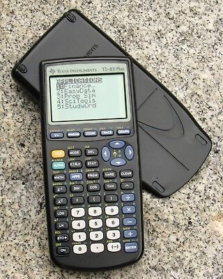 Texas Instruments TI-83 Plus Graphing Calculator with Slide Cover