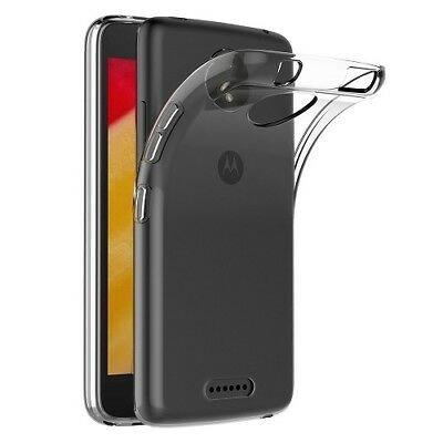 Ultra Thin Crystal Clear Gel Silicone Slim Case Cover For Motorola Moto Phones
