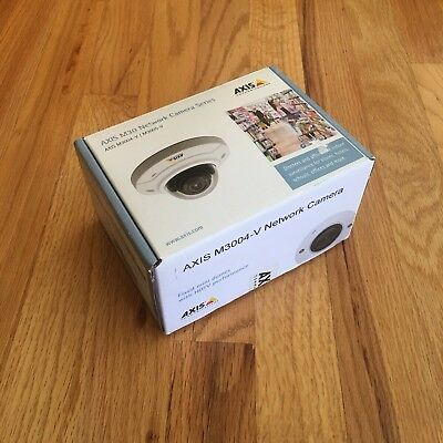 AXIS M3004-V Network Camera PN: 0516-001  BRAND NEW OPENED BOX MSRP $240