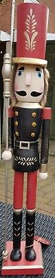 CHRISTMAS NUTCRACKER SOLDIER GUARDSMAN EXTRA LARGE 60 cms NEW THIS YEAR! BNWT