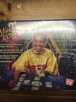 Miss Cleo's Tarot Power - Collectors Edition!! New Old Stock 2001 Unopened