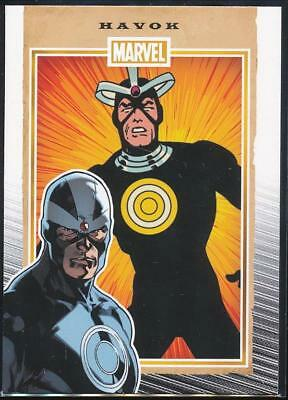 2014 Marvel 75th Anniversary Trading Card #34 Havok