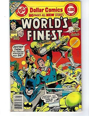 World's Finest # 245 (80 Page Giant, July 1977), Vg+