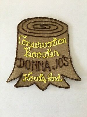 Vintage Patch CONSERVATION BOOSTER KOUTS, IND. Donna Jo's Forest Waters Wildlife