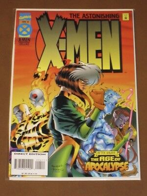 Astonishing X-Men #4 Vf 1995 Original Age Of Apocalypse Marvel Joe Madureira Art