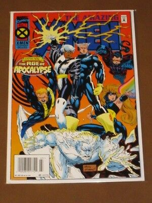 Amazing X-Men #1 Fn/vf 1995 Original Age Of Apocalypse Marvel Bishop Magneto