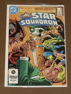 All-Star Squadron #30 Vf Jsa Justice Society Wonder Woman Liberty Belle Dc 1984