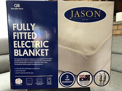 Jason Fully Fitted Queen Electric Blanket