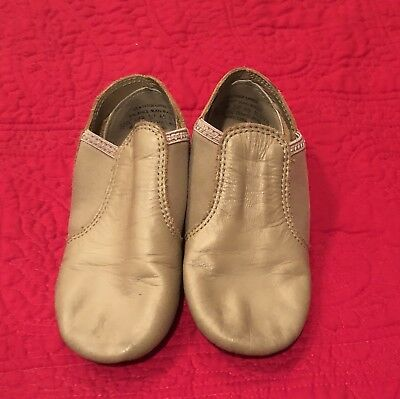Used Capezio Leather tan jazz Shoes.