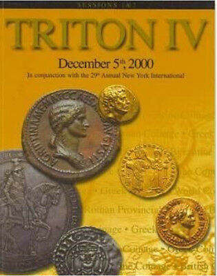 TRITON IV Part I - Ancient Roman Greek Coin Auction Catalog CNG 2000 Reference