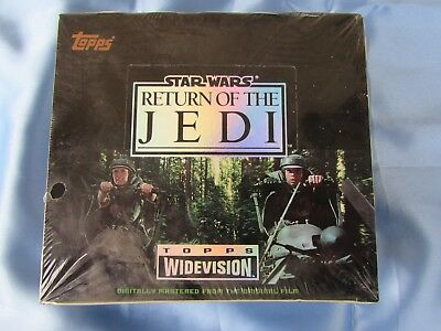 """Star Wars """"Return Of The Jedi"""" Widevision Cards - Topps 1995 Sealed Box"""