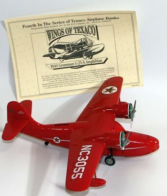 Wings of Texaco, 1940 Grumman Goose, 4th in the series Collectible Bank