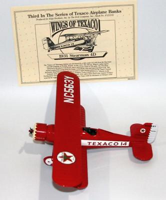 1995 Wings of Texaco 1931 Stearman Biplane, 3rd in Series Collectible