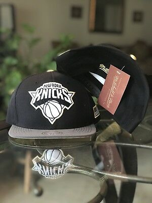 6e867c258c67bf New mitchell and ness new york knicks Gold Tip Snapback Cap Hat Trucker