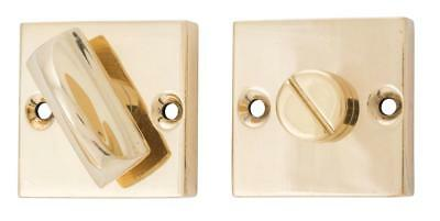 square,face fix forged privacy turn,10 finishes,bathroom,toilet lock 35mm