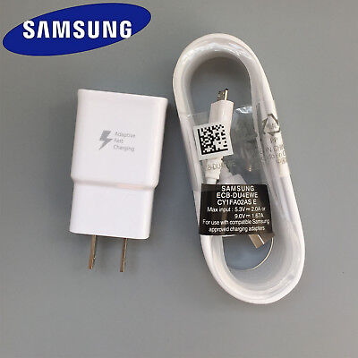Original OEM Adaptive Rapid Fast Charger For Samsung Galaxy Note 4 5 S6 S7 edge