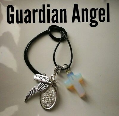 Code 487 Guardian Angel infused Necklace Doreen Virtue Certified Practitioner
