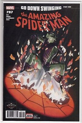 THE AMAZING SPIDER-MAN #797 1st Print Alex Ross New Osborn Red Goblin *HOT* NM+