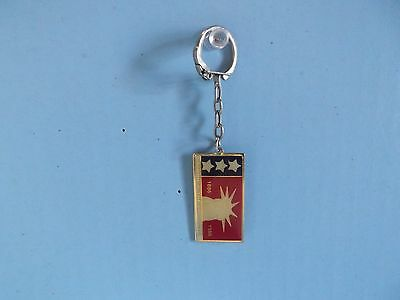 "Old Collectible 1.75""in Metal America The Beautiful Key Chain"