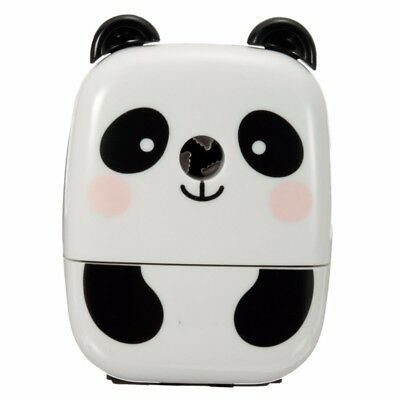 Kids Pencil Sharpener Cute Panda Drawing Sketching Pencil Safe Sharpening Tool
