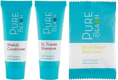 Pure Beach Shampoo / Conditioner /soap Hotel / Guest Amenities / Air B&b Pack 45