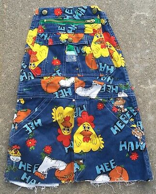 Vintage Hee Haw Remnants From Liberty Overalls 70s 1970s