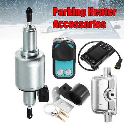 Air diesel Petrol Parking Heater Kit Lgnition /Remote LCD /Muffler Pipe/Fuel Pum