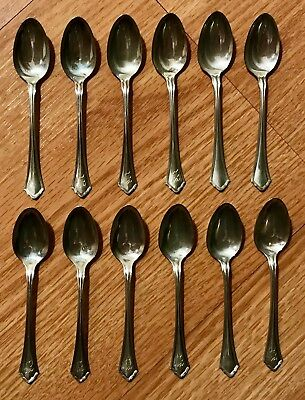 (12) Sterling Silver Baby Spoon's - Vintage -  3 1/2 Inches