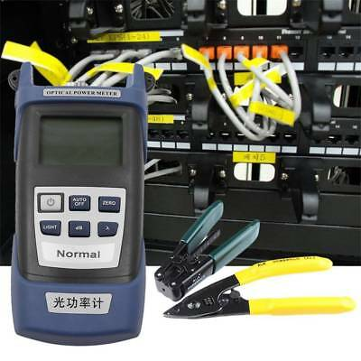 Fiber Optic Cleaver Kit Tool FC-6S with FTTH Fiber and Optical Power Meter 5km