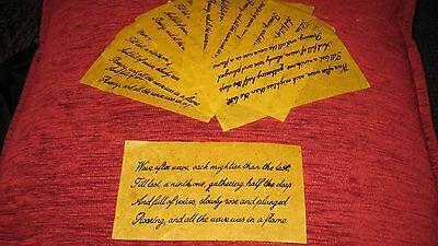 Perfect Gift-KATE-BUSH-Fan Memorabilia-Before-the-Dawn Confetti, Ninth Wave