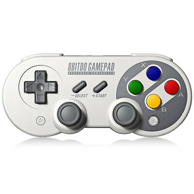8Bitdo SF30 Pro Wireless Bluetooth Controller with Classic Joystick Gamepad
