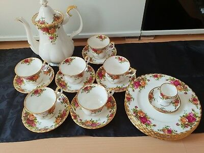 Kaffeeservice Old Country Roses Royal Albert