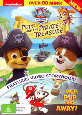 Paw Patrol: Pups and the Pirate Treasure NEW DVD (Region 4 Australia)