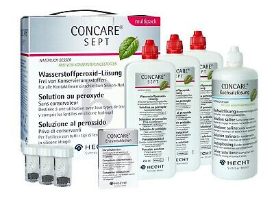 Hecht Concare Sept  Multipack (3X250ML) Peroxidsystem von Hecht