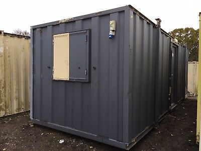 Site Cabin Office Welfare Portable Steel Building 24ft x 9ft Anti Vandal
