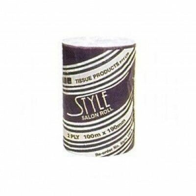 New Abc Style Style-100 Roll Towel Salon 100M - White Carton (16 Rolls)
