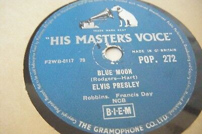 Elvis Presley * Blue Moon / I Don't Care If The Sun Don't Shine * Vg