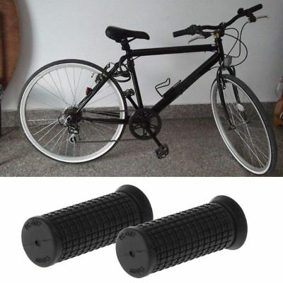 2pcs Bicycle Grips Short Handle Rubber Non Slip Cycling Scooter MTB Bike Parts