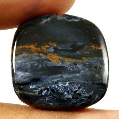 27.45 cts 100% Natural Pietersite Designer Gemstone Cushion Shape Loose Cabochon