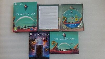 No Mans Sky PS4 Limited Edition with Steelbook and DLC Sony PlayStation 4 PS4