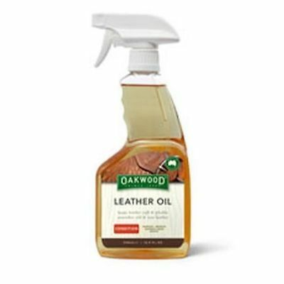 OAKWOOD LEATHER OIL SPRAY - 500 ML - for saddles, bridles, harness gear & tack