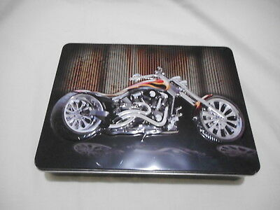 Biscuit Tin  '' Motorcycle ''