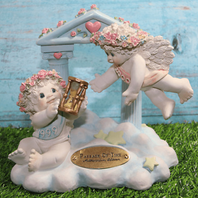 """Dreamsicles """"Passage Of Time"""" Figurine10671 Millennium 1999-2000 Retired Signed"""