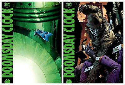 DOOMSDAY CLOCK #7 Main Cover + Variant Set Gary Frank DC NM+ Doc-a-Wang!