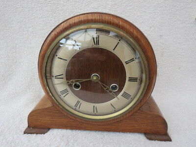 Vintage 8 Day Striking Perivale Bentima Clock For Tlc