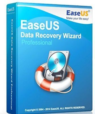 EaseUS Data Recovery Wizard v11.8 - FULL VERSION License - Digital Download