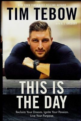 This Is the Day by Tim Tebow SIGNED AUTOGRAPHED HARDCOVER