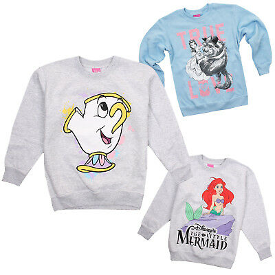 Disney Princess - Sweatshirt - Kids - Girls - Sizes 7-12 years