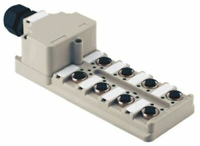 Weidmuller 8 Port Sensor Box with 5 Way M12 Sockets